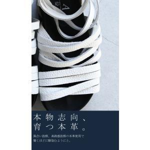 靴 シューズ サンダル 本革 日本製 レディース 厚底 プラットフォームサンダル・##メール便不可|antiqua|09