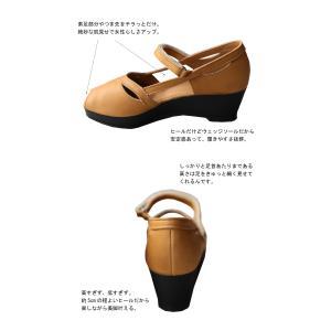 靴 サンダル レディース 本革 シューズ オープントゥ ベルト付きレザーサンダル・メール便不可|antiqua|08