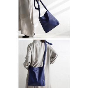 バッグ 鞄 レザー 本革 レディース トートバッグ 日本製 結びレザーバッグ・1月29日20時〜再再販。「G」##メール便不可|antiqua|04