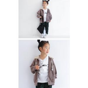 トップス パーカー フーディー キッズ 子供服 キッズパーカー・10月12日20時〜発売。##メール便不可|antiqua|05