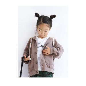 トップス パーカー フーディー キッズ 子供服 キッズパーカー・10月12日20時〜発売。##メール便不可|antiqua|07