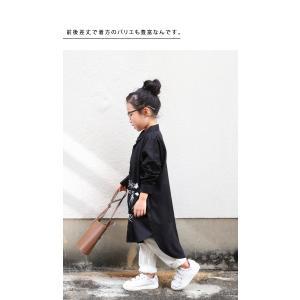 シャツワンピース トップス 長袖 アンティカ 手描き絵ワンピ・(80)メール便可|antiqua|10