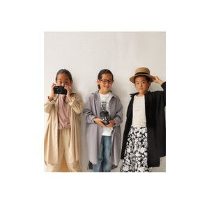 シャツ ロングシャツ 子供 女の子 男の子 アンティカ ロングシャツ・11月9日20時〜発売。(100)メール便可|antiqua|19