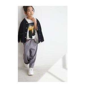 シャツ ロングシャツ 子供 女の子 男の子 アンティカ キッズパンツ・11月9日20時〜発売。(80)メール便可|antiqua|08