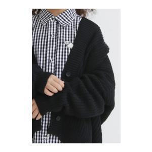 ニット綿 畦編み ドルマン カーデ キッズ コットン畦編みカーデ・10月9日20時〜再再販。「G」##メール便不可|antiqua|11