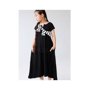ワンピース アンティカ 子供服 半袖 ワッフル 女の子 ワッフルフレアワンピース。・6月15日20時〜発売。##メール便不可|antiqua|14