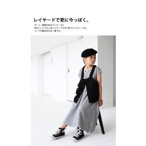 ワンピース アンティカ 子供服 半袖 ワッフル 女の子 ワッフルフレアワンピース。・6月15日20時〜発売。##メール便不可|antiqua|09