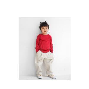 子供服 キッズ 男の子 女の子 長袖  ロンT 無地 カットソー・3月16日20時〜発売。(50)メール便可|antiqua|19