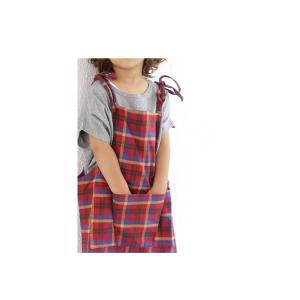子供服 女の子 サロペット ワンピース ジャンパースカート チェックサロペット・5月25日20時〜再販。(30)メール便可|antiqua|09
