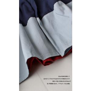 キッズ 子供服 女の子 ワンピース 切替え 半袖 designワンピース・(100)メール便可|antiqua|08