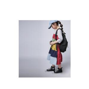 キッズ 子供服 女の子 ワンピース 切替え 半袖 designワンピース・(100)メール便可|antiqua|09