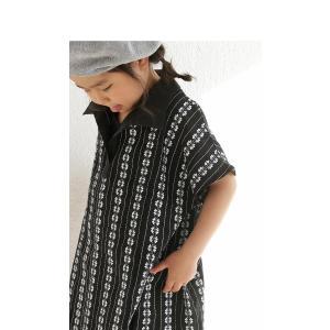 キッズワンピース 半袖 子供服  アンティカ 刺繍ワンピース。・6月15日20時〜発売。(50)メール便可|antiqua|09