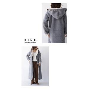 コート アウター ロング 柔らかい 軽量 裏ボアフーデッドコート・11月4日20時〜再販。##「G」メール便不可|antiqua|10
