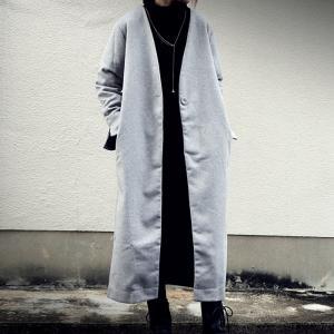 ずっと愛用したい、最高峰のコート。デザインコート・12月26日20時〜再再販。「G」##メール便不可|antiqua