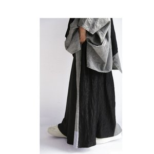 切り替えとボタンデザインで掻き立てる。チェックデザインスカート・10月9日20時〜再再販。##メール便不可 antiqua 14