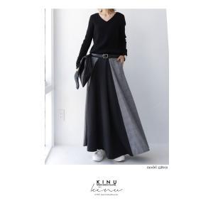 切り替えとボタンデザインで掻き立てる。チェックデザインスカート・10月9日20時〜再再販。##メール便不可 antiqua 09
