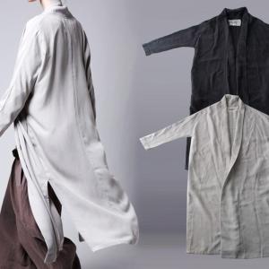 レディース アウター ガウン コート ショールカラーガウン・2月9日20時〜発売。(100)メール便可|antiqua