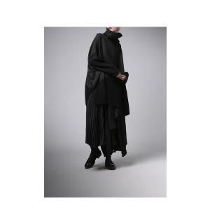 プリーツスカートの概念を崩す斬新さ。デザインスカート・11月10日20時〜再販。##メール便不可|antiqua|12