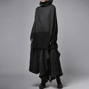 プリーツスカートの概念を崩す斬新さ。デザインスカート・11月10日20時〜再販。##メール便不可|antiqua|13
