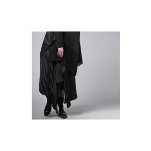 プリーツスカートの概念を崩す斬新さ。デザインスカート・11月10日20時〜再販。##メール便不可|antiqua|04