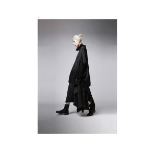 プリーツスカートの概念を崩す斬新さ。デザインスカート・11月10日20時〜再販。##メール便不可|antiqua|05