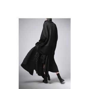 プリーツスカートの概念を崩す斬新さ。デザインスカート・11月10日20時〜再販。##メール便不可|antiqua|08