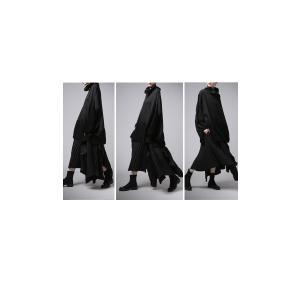 プリーツスカートの概念を崩す斬新さ。デザインスカート・11月10日20時〜再販。##メール便不可|antiqua|10