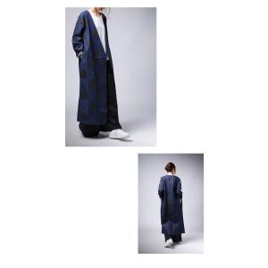 トップス 羽織り デニム 水玉 ドットデニムロングジャケット・10月3日20時〜再販。##「G」メール便不可 antiqua 10