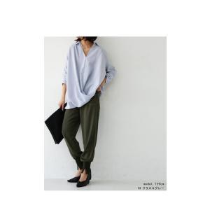 """頼れる""""ワザあり""""。プルオーバーバルーンシャツ・4月20日20時〜再再販。このシャツを即戦力にした。##メール便不可 antiqua 15"""