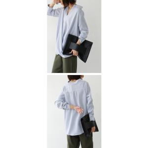 """頼れる""""ワザあり""""。プルオーバーバルーンシャツ・4月20日20時〜再再販。このシャツを即戦力にした。##メール便不可 antiqua 16"""