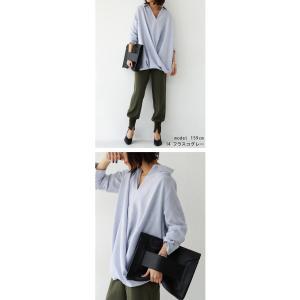 """頼れる""""ワザあり""""。プルオーバーバルーンシャツ・4月20日20時〜再再販。このシャツを即戦力にした。##メール便不可 antiqua 04"""