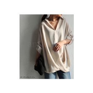 """頼れる""""ワザあり""""。プルオーバーバルーンシャツ・4月20日20時〜再再販。このシャツを即戦力にした。##メール便不可 antiqua 05"""