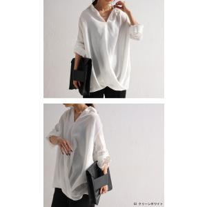 """頼れる""""ワザあり""""。プルオーバーバルーンシャツ・4月20日20時〜再再販。このシャツを即戦力にした。##メール便不可 antiqua 06"""