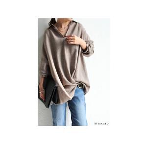 """頼れる""""ワザあり""""。プルオーバーバルーンシャツ・4月20日20時〜再再販。このシャツを即戦力にした。##メール便不可 antiqua 07"""