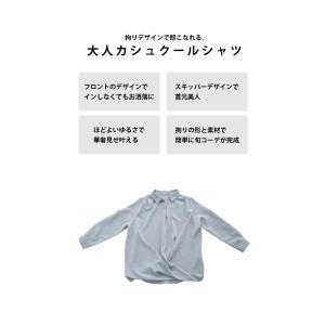 """頼れる""""ワザあり""""。プルオーバーバルーンシャツ・4月20日20時〜再再販。このシャツを即戦力にした。##メール便不可 antiqua 09"""