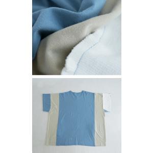 トップス 七分袖 メンズ 綿 プルオーバー Tシャツ カラーブロッキングビッグT・##メール便不可|antiqua|09