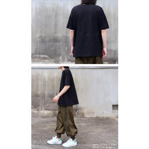 トップス Tシャツ メンズ 半袖 綿 クルーネックバスクT・100ptメール便可|antiqua|07