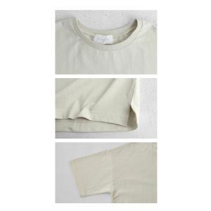 トップス Tシャツ メンズ 半袖 綿 クルーネックバスクT・100ptメール便可|antiqua|09