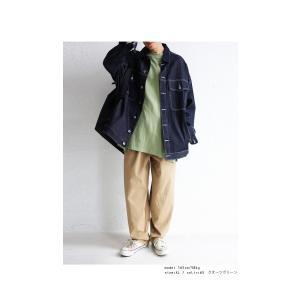 トップス Tシャツ メンズ 半袖 リブ 綿・8月5日0時〜再販。新色追加!既存色の発送は8/6〜 新色の発送は8/11〜。100ptメール便可 antiqua 11