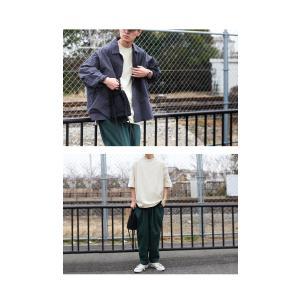 トップス Tシャツ メンズ 半袖 リブ 綿・8月5日0時〜再販。新色追加!既存色の発送は8/6〜 新色の発送は8/11〜。100ptメール便可 antiqua 19