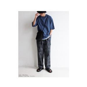 トップス Tシャツ メンズ 半袖 リブ 綿・8月5日0時〜再販。新色追加!既存色の発送は8/6〜 新色の発送は8/11〜。100ptメール便可 antiqua 20