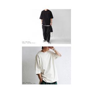 トップス Tシャツ メンズ 半袖 リブ 綿・8月5日0時〜再販。新色追加!既存色の発送は8/6〜 新色の発送は8/11〜。100ptメール便可 antiqua 04