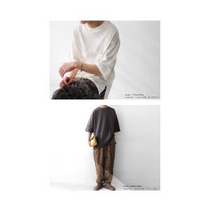 トップス Tシャツ メンズ 半袖 リブ 綿・8月5日0時〜再販。新色追加!既存色の発送は8/6〜 新色の発送は8/11〜。100ptメール便可 antiqua 06