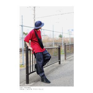トップス Tシャツ メンズ 半袖 リブ 綿・8月5日0時〜再販。新色追加!既存色の発送は8/6〜 新色の発送は8/11〜。100ptメール便可 antiqua 07