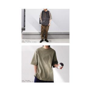 トップス Tシャツ メンズ 半袖 リブ 綿・8月5日0時〜再販。新色追加!既存色の発送は8/6〜 新色の発送は8/11〜。100ptメール便可 antiqua 10