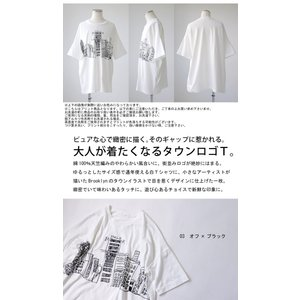 トップス メンズ 半袖 綿 綿100% Tシャツ ロゴT ブルックリンイラストTシャツ・メール便不可 antiqua 02