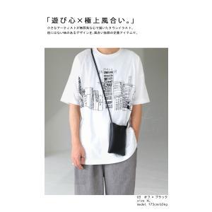 トップス メンズ 半袖 綿 綿100% Tシャツ ロゴT ブルックリンイラストTシャツ・メール便不可 antiqua 03