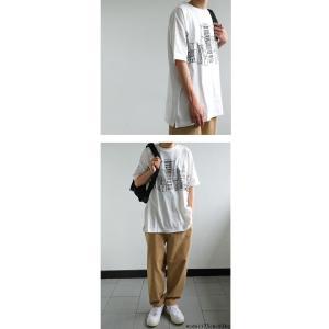 トップス メンズ 半袖 綿 綿100% Tシャツ ロゴT ブルックリンイラストTシャツ・メール便不可 antiqua 04