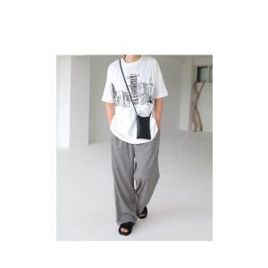 トップス メンズ 半袖 綿 綿100% Tシャツ ロゴT ブルックリンイラストTシャツ・メール便不可 antiqua 10