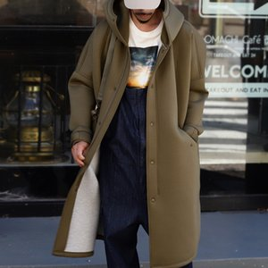 コート メンズ アウター 長袖 ボンディング ジップ フード・8月30日0時〜発売。メール便不可|antiqua